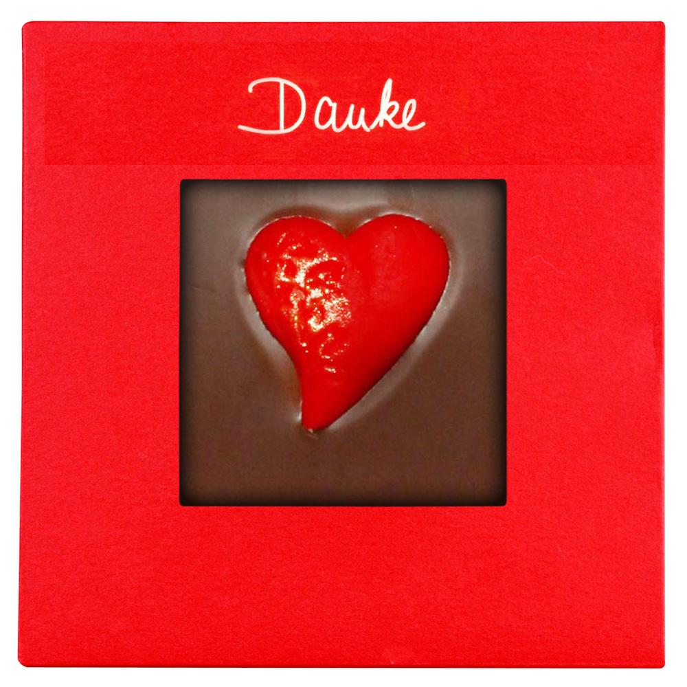 Danke Schokoladen-Tafel