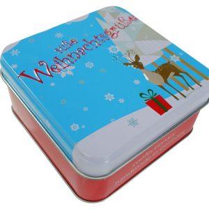 Präsentbox Süße Weihnachtsgrüße, klein Perspektive