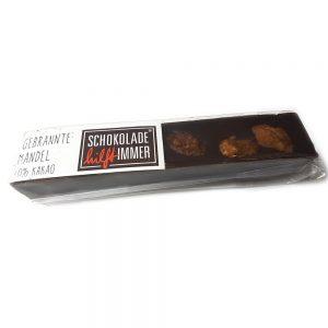 Schokoladen-Riegel mit gebrannten Mandeln